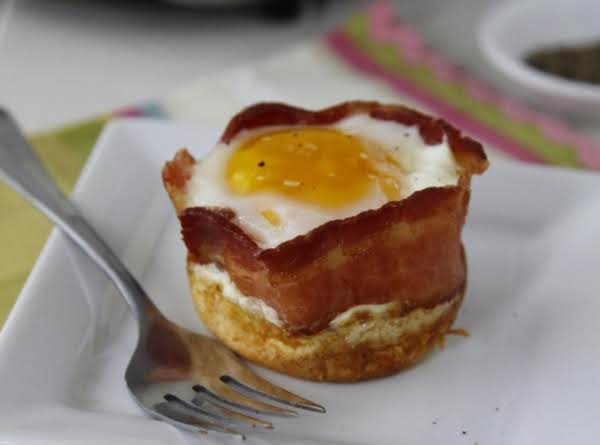 Pancake Bacon And Egg Cups Recipe