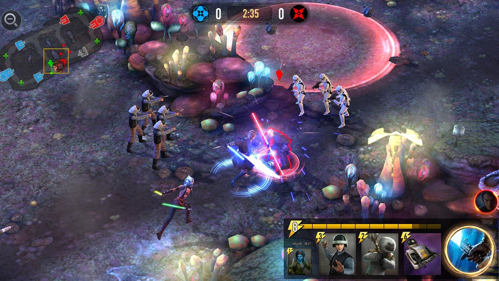 Star Wars™: Force Arena- screenshot
