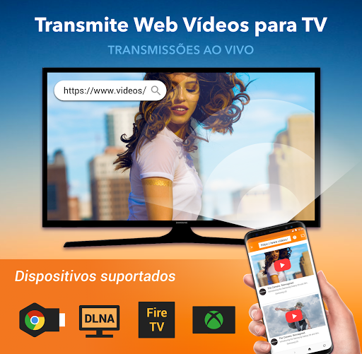 Foto do Transmitir para TV: Chromecast, IPTV, Fire TV,Xbox