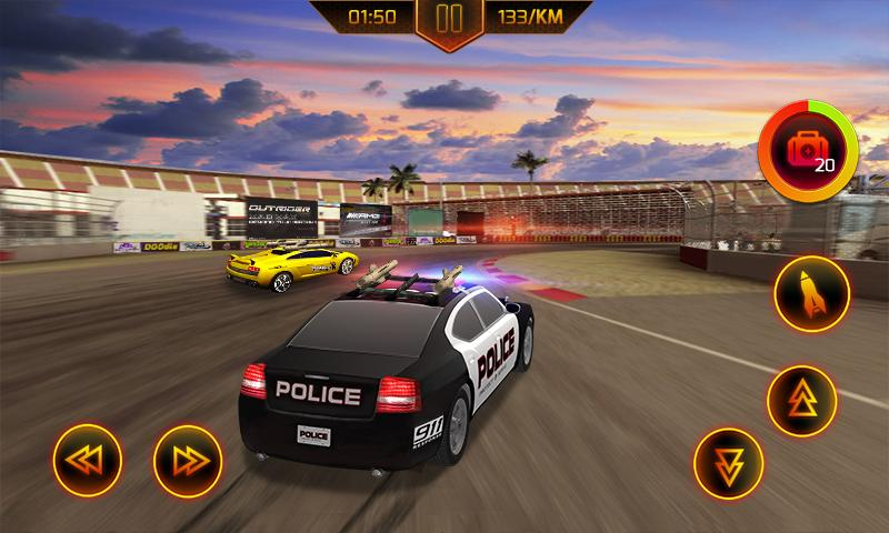 Police Car Chase- screenshot