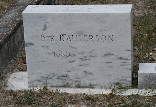 Photo: B.R. Raulerson aka Berry R Raulerson son of Mack Raulerson and Emilly Narcissus Crews / Husband of Arie Lee Reynolds / Died Jul 13 1954 Tombstone not updated.