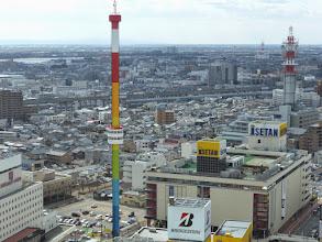 Photo: 休止中のレインボータワー
