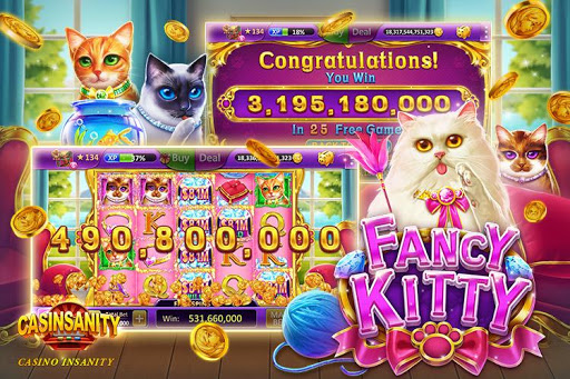 Casinsanity Slots u2013 Free Casino Pop Games screenshots 19