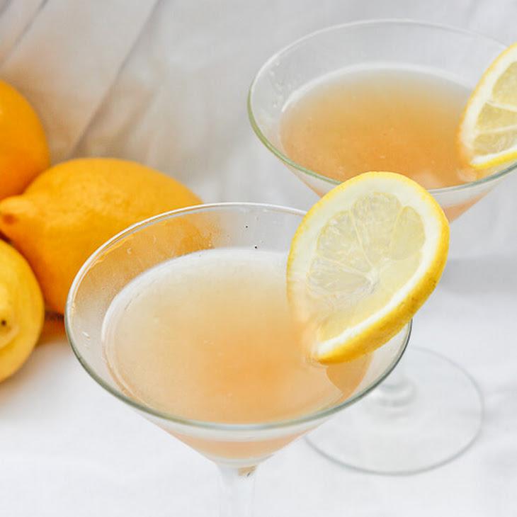 Lavender Lemon Bourbon Sour