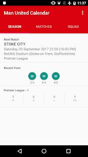 Man United kalendář - náhled