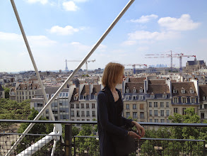 Photo: Beautiful view from the Pompidou (http://en.wikipedia.org/wiki/Centre_Georges_Pompidou)