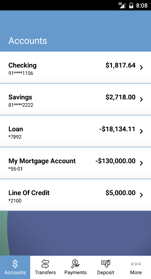 Del One FCU- screenshot