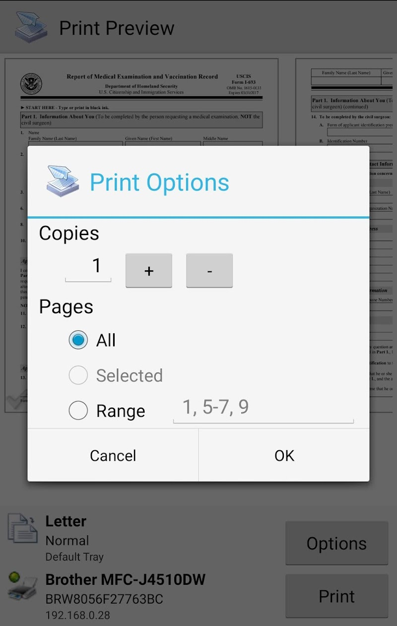 Mobile Print - PrinterShare Screenshot 4