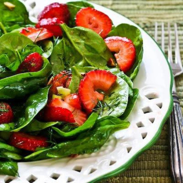 Strawberry And Spinach Salad Recipe
