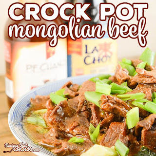 Easy Crock Pot Mongolian Beef.