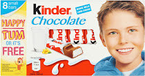 Kinder Chocolate - 8 Small Bars, 100g
