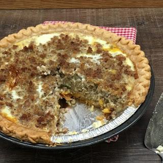 Sausage Quiche With Pie Crust Recipes.