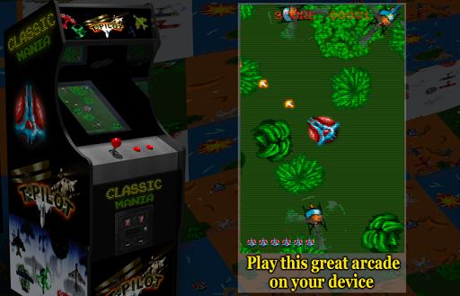 Retro Time Pilot Arcade apkpoly screenshots 2