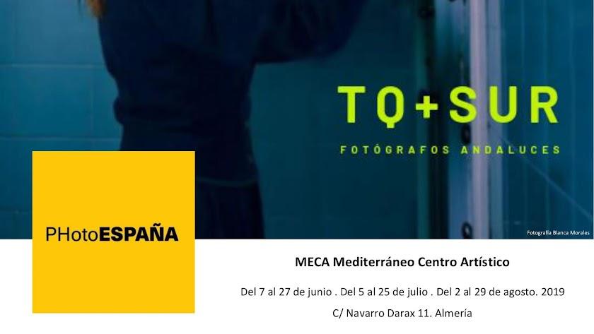 Detalle del cartel de 'TQ+SUR', proyecto de MECA para PhotoEspaña.
