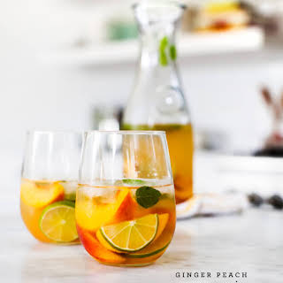 Peach Alcoholic Drinks Recipes.