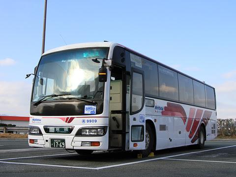 西鉄高速バス「フェニックス号」 9909 北熊本SAにて_01