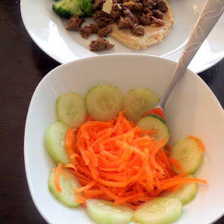 Simple Carrot and Cucumber Salad