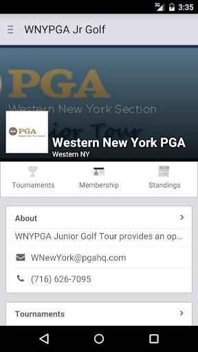 Western NY PGA Junior Tour