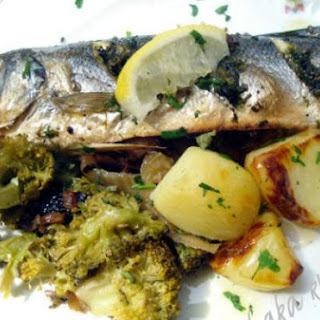 Sea Bass With Fennel And Broccoli