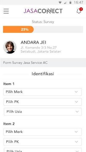 Jasa Connect Field Personell App screenshots 3