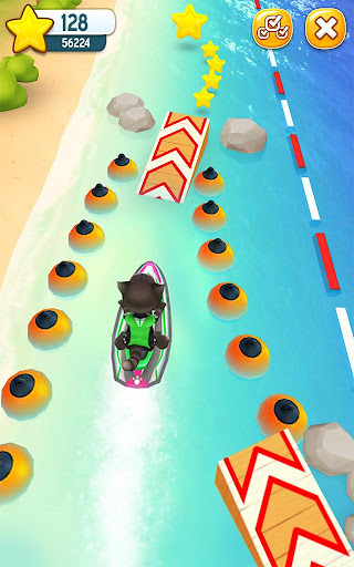 Talking Tom Jetski screenshot 7