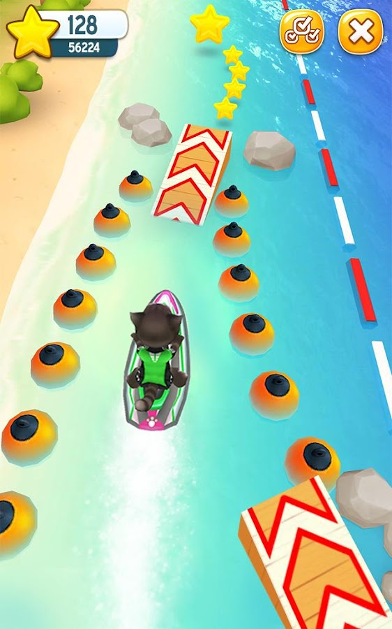 Talking Tom Jetski- screenshot