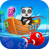 Happy Fisher Panda: Ultimate Fishing Mania Games