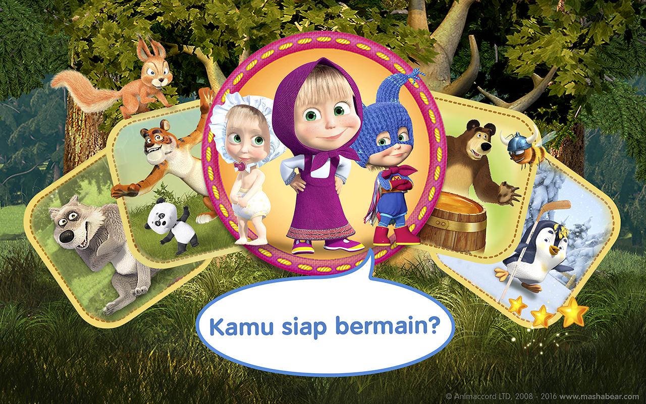 Masha Dan Beruang Permainan Apl Android Di Google Play