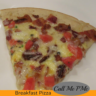 Simple & Delicious Breakfast Pizza.