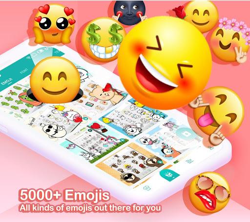Kika Keyboard 2020 - Emoji Keyboard, Stickers, GIF 6.6.9.5856 Screenshots 1