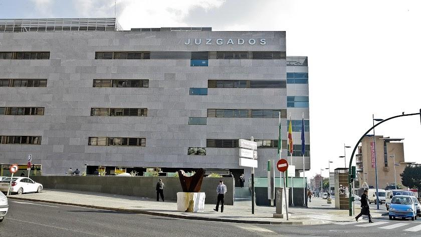 Imagen de la Ciudad de la Justicia de Almería.
