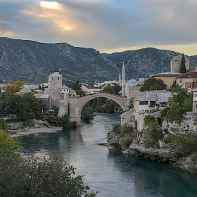 Mostar, Bosnia by Silvana Schevitz - Travel Locations Landmarks