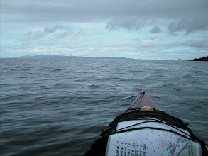 Photo: June 21 - Crossing Portland Inlet with Alaska in view on the far side.