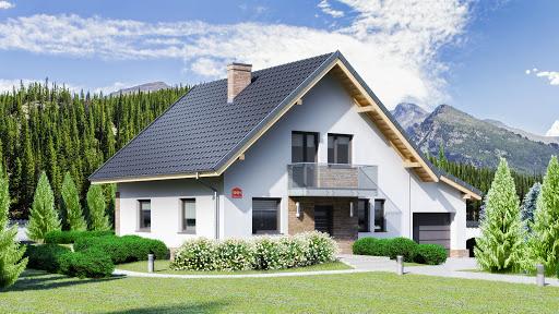 projekt Dom przy Oliwkowej 5 NH