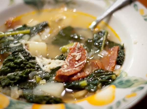 Portuguese Kale And Chorizo Soup Recipe