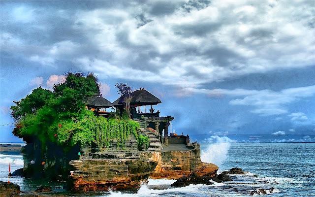 Bali Theme & New Tab