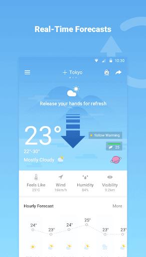 Previsão do tempo - Radar exato do tempo do mundo screenshot 1