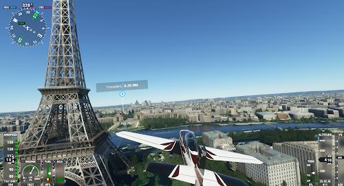 フライトシミュレータ2020 パリ