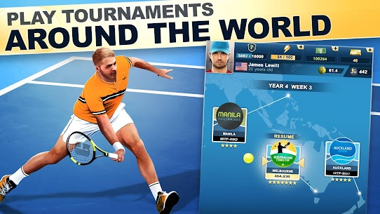 TOP SEED Tennis Sports Management Simulation Game 2.45.3 Mod (Unlimited Gold) 1