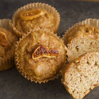 Sweet Potato Almond and Ginger Muffins.