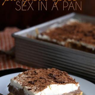 Pumpkin Sex In A Pan Dessert