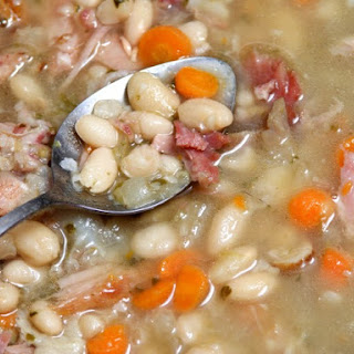 Old Fashioned Navy Bean Soup.