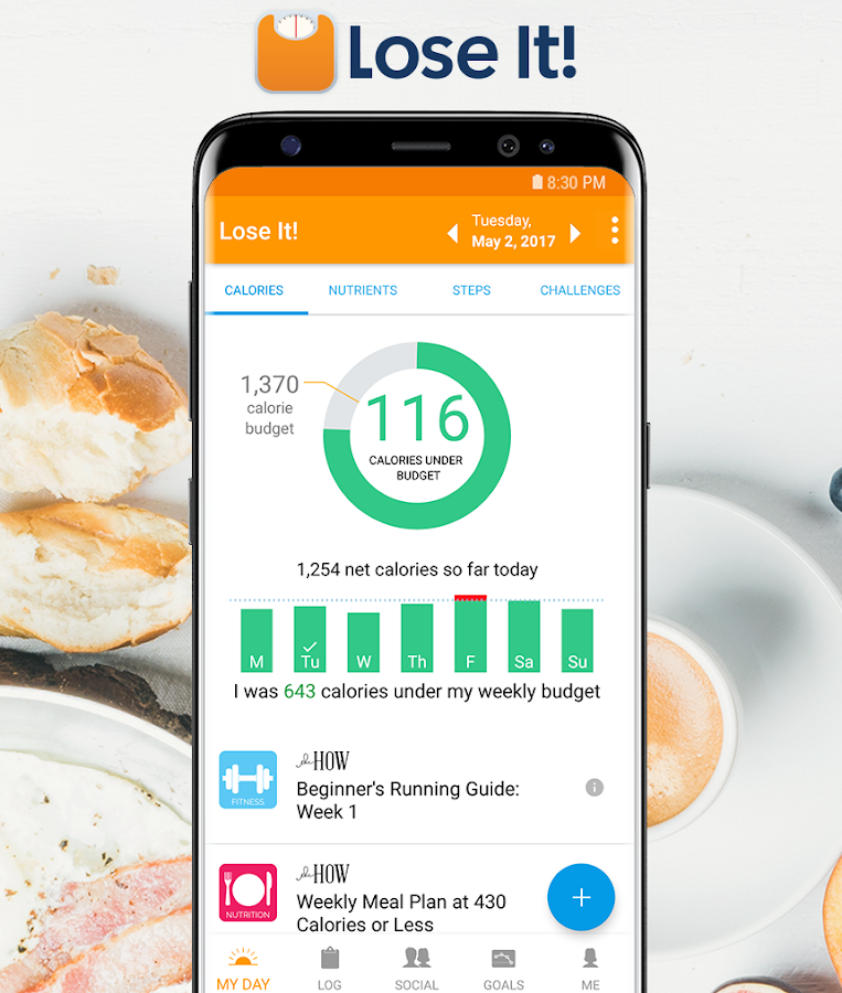 Lose It! - Calorie Counter- screenshot