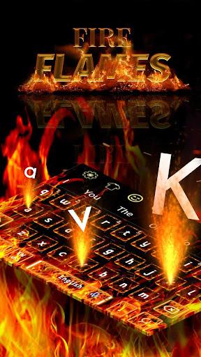 Fire Flames Keyboard 10001001 screenshots 1