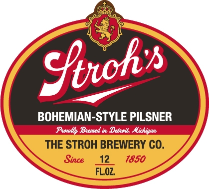 Logo of Brew Detroit Strohs Bohemian-Style Pilsner
