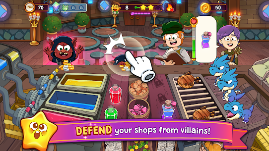 Potion Punch 2: Fantasy Cooking Adventures Apk Mod (Dinheiro Infinito) 6