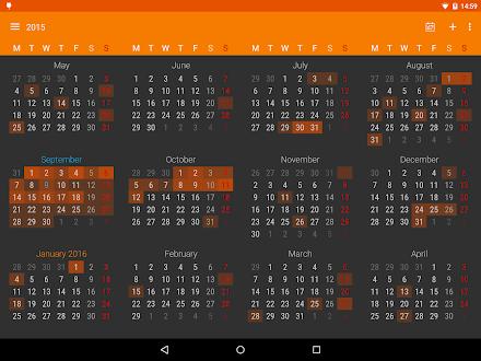Calendario DigiCal+ 2016 Gratis