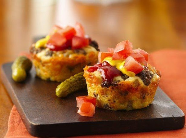 Impossibly Easy Mini Cheeseburger Pies Recipe