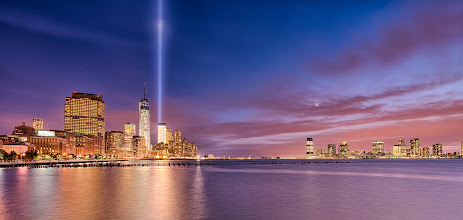Photo: Tribute in Light New York, NY  This is my first time seeing the Tribute in Light for 9/11, which is absolutely breathtaking. It's a beacon of hope and reminds me to really appreciate those that I love.  #newyork  #tributeinlight +9/11 Memorial #Honor911