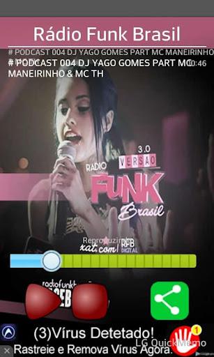 Rádio Funk Brasil screenshot 1
